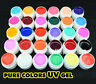 20 Pure Colors Shiny Extension Nail Art UV Gel Builder Tips Glue Manicure GDCOCO