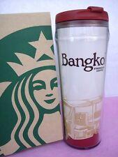 12 oz Starbucks Travel Tumbler BANGKOK CITY Thailand Printed Souvenir Gift Thai