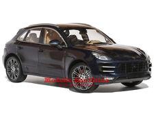 1:18 Minichamps 2013 Porsche Macan Turbo Bleu Nuit Métallisé