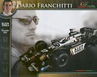 2006 Dario Franchitti Canadian Club Klein Tools Honda Dallara Indy Car postcard