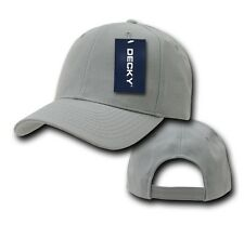 DECKY Plain Blank Deluxe Curve Bill Baseball Solid 2 Tone Hat Cap 207