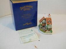 "1995 David Winter Cottages 5"" Collectors Guild Gardener's Cottage Coa +Orig Box"