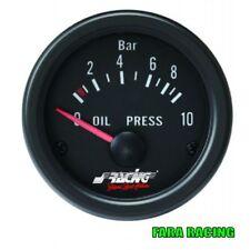 Simoni Racing OP/B Indicatore elettrico di pressione olio - Black face