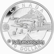 Canada 2013 Oh! Canada Series 5 Summer Fun in the Sun $10 Pure Silver Proof