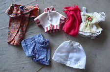 Lot of Vintage Barbie Doll Clothes Outfits Tops More #4 LOOK