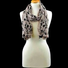 SCARF--Floral Vine Scarf by RCS Gifts--Your Choice of Color