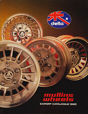 "Delta Wheel Catalogue 1980 - 10"" 12"" 13"" 14"" & 15"" Alloys, Chromes, Steels, Wire"