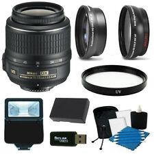 Accessory Kit for Nikon D5100, D5200 & D5300 w/ 18-55mm VR Lens