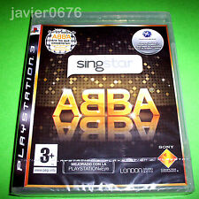 Singstar ABBA para la Sony Play Station 3 PS3 usado completo