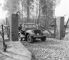 WWII Photo US Army Liberate Penig Concentration Camp WW2 B&W World War Two/ 1361
