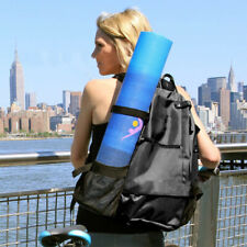 Yoga Mat Carrier Fitness Necessaries Carrying Backpack Gym Sports Crossbody Bag