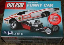 MPC 801 Hot Rod Magazine  1970 Mustang Funny Car model kit 1/25