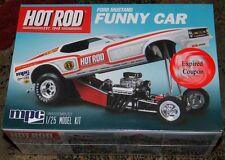 MPC Hot Rod Magazine  1970 Mustang Funny Car model kit 1/25