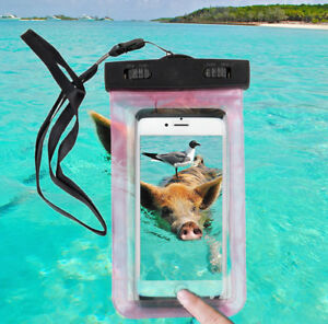 Waterproof Swimming Diving key Pouch Strap Case Dry Bag for 3 for 8$  Phone