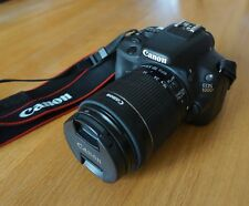 Canon EOS 100D 18.0MP Fotocamera Reflex Digitale-Nero Lens (18-55mm)