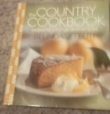 BELINDA JEFFERY , MINI COOKBOOK. . 15 BY 12CM, THE COUNTRY COOKBOOK