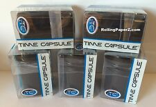 FIVE UNITS - Time Capsule Storage Container/Jar/Can/Stash air/water tight seal