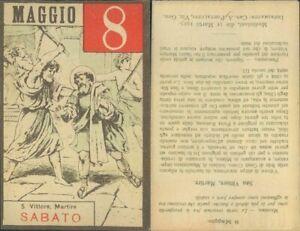SAN VITTORE,MARTIRE -ASSOLUTA R@RIT@' SANTINO DI SABATO 8 MAGGIO 1937