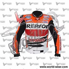 Marquez Repsol 2013 Motorbike Leather Jacket MLJ-786221040