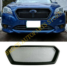 1x Front Upper Hood Sport Mesh Grille Grill For Subaru Legacy Outback 2015-2017
