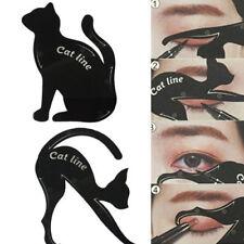 Cat Eye Line Eyeliner Stencil Models Template Eyes Shaper Eyebrow Makeup Tool