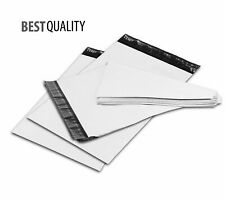1-1000 White Poly Mailers Bags Shipping Envelope Packaging Self Sealing Mailing