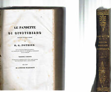 LE PANDETTE di Giustiniano riordinate da R.G.Pothier volume5 in Venezia 1835