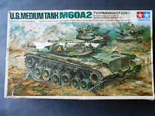 Vintage and very rare 1/35 Tamiya Mokei U.S. M60A2 Tank Remote Control model kit