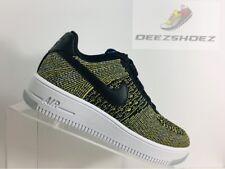 differently 043bd aa2b8 Nike Air Force 1 Fliknit bajo Verde negro para mujer 820256 004 US tamaño 6