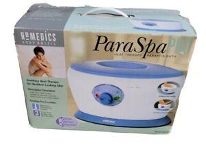 New Open Box Homedics Paraspa Mini Par-100 Paraffin Bath