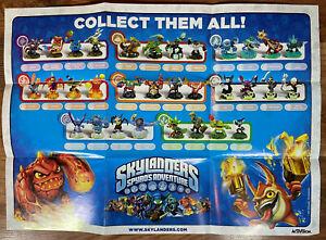 Skylanders Early Promo Poster (Spyro, Hex, Eruptor) Activision 2011