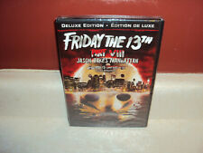 FRIDAY THE 13TH VIII JASON TAKES MANHATTAN PART 7 DELUXE EDITION SEALED MOVIE