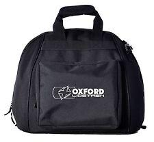 Oxford Deluxe Lidstash Motorcycle Helmet Bag Motorbike Crash Lid Carry Storage