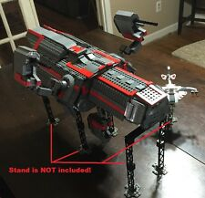 Custom Lego Star Wars D7 Mantis Star ship with Crew and Cargo!