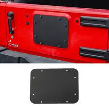 Fits Jeep Wrangler JK /JKU Tailgate Spare Tire Carrier Delete Filler Plate Black
