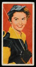 """Mister Softee Trade Card """"TV Personalities"""" 1962 Card #17 """"Patricia Driscoll"""""""