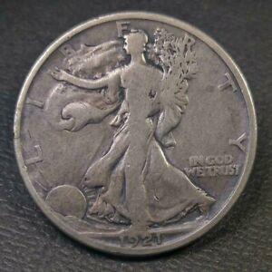 1921 D Walking Liberty Half Dollar KEY DATE