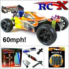 RC Nitro Car Buggy Radio/Remote Control Pro 4WD 1/10 Fast Petrol Truck Model UK