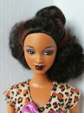Barbie Doll African American So in Style Trichelle Redressed Beautiful