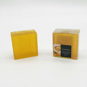 Honey Soap 100g x 3 = 300g Made In Thailand Using Hungarian Soap Recipe