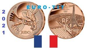 FRANCE     1/4     EURO    JEUX OLYMPIQUES    2021    NEUVE   JUDO     prévente