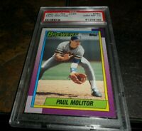 RARE 1990 OPC #360 PAUL MOLITOR Milwaukee Brewers PSA 10 Gem Mint LOW POP