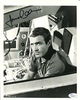 JAMES CAAN HAND SIGNED 8x10 PHOTO        YOUNG+HANDSOME ACTOR        JSA
