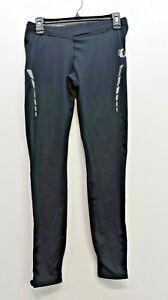 Pearl Izumi Select Womens Black Ankle Zip Leg Thermal Cycling Tight Long Pants M