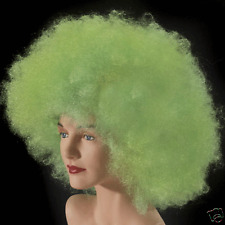 Green Afro Jumbo Wig Costume Halloween Party Unisex dress up party