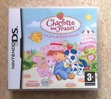 Charlotte aux Fraises : Les jeux de Fraisi-Paradis pour Nintendo DS & DSi & 3DS