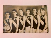 1908 Basketball Team Photo Postcard Post Card Unposted Unused RARE V GOOD Cond