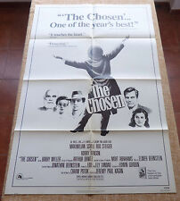 The Chosen Movie Poster, Original, Folded, One Sheet, year 1982, Litho in U.S.A.