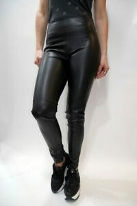 Pantalone in Ecopelle Donna GUESS W91B13WB5M0 Nero Misura XS