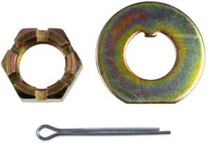 Spindle Lock Nut Kit Front Dorman 04993